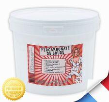 Percarbonate de Soude 5Kg - 100% Naturel & qualité supérieur - Blanchir le linge
