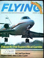 Flying Magazine June 1975 Falcon 10 EX w/ML 120316jhe
