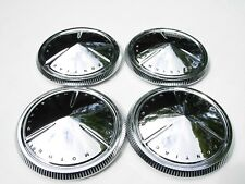 PONTIAC MOTOR DIVISION HUBCAPS BABY MOONS POVERTY FULLSIZE WTF? WHAT THEY FIT