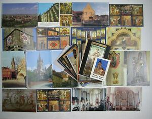 Lot of 65 Postcards Biserica Neagră / Black Church Brasov, Transylvania, Romania