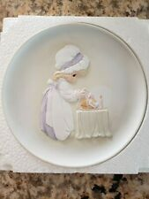 "Precious Moment ""Loving Thy Neighbor"" Plate #14188 E-2848 Mothers Love Series"