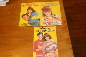 3 x 1983 Mail on Sunday Winning Weight Game Booklets