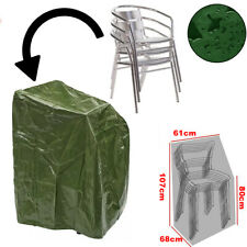 More details for waterproof garden stacking chair cover outdoor heavy duty for wood/metal/plastic