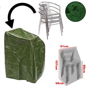 Waterproof Garden Stacking Chair Cover Outdoor Heavy Duty for Wood/Metal/Plastic