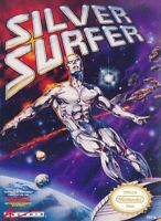 Silver Surfer Nintendo Nes Cleaned & Tested Cart Only Authentic