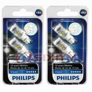 2 pc Philips Tail Light Bulbs for Mercury Colony Park Grand Marquis ty