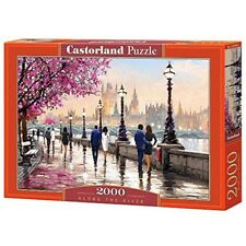 Castorland Jigsaw 2000pc -along The River - Along Puzzle 2000piece Multicolour