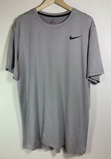 "Nike Hyper Dry Breathe Training Shirt ""Atmosphere Gray� Xlt"