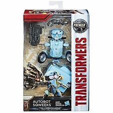 Transformers L'ULTIMO CAVALIERE Premier Movie Deluxe sqweeks Action Figure Nuovo