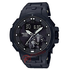 Casio PRO-TREK PRW-7000FC-1B Analogico & Digitale MEN'S Watch Nuovo di Zecca