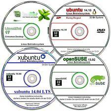 Linux Mega Paquete - Menta, Suse, ubuntu, xubunt ✔32 bit LTS ✔4 DVD`s