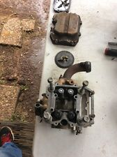 1998 Polaris 425 magnum cylinder head with covers and cam gear