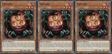 """""""Sangan"""" X 3 1st mint Common YS17-EN013 YUGIOH"""