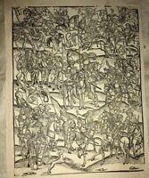 1502. suite de 22 bois pour illustrer VIRGILE.Par Jean GRÜNINGER.ALSACE.