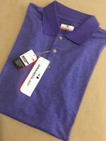BIG & TALL Grand Slam MotionFlow Golf Polo Shirt - Liberty Purple Heather - XLT