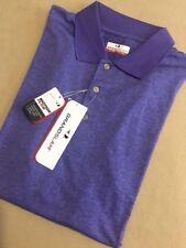 BIG & TALL Grand Slam MotionFlow Golf Polo Shirt - Liberty Purple Heather - XLT
