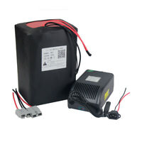 60V 33Ah LiFePO4 Lithium Battery Pack for 2000W Electric Bike BMS + 5A Charger