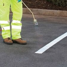 """White Line Road marking (4"""") 100 mm EXTRA LONG 10 METRES REFLECTIVE NON SLIP"""