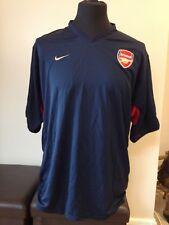 Arsenal Training Shirt Adult XL (W818) Nike Navy Blue