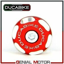 Tappo Ruota Dx Post Bicolore Rosso Ducabike Ducati Multistrada 1000 2003 > 2006