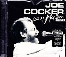 JOE COCKER live at montreux 1987 CD + DVD NEU OVP/Sealed