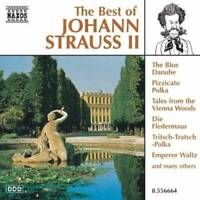 Best of Johann Strauss Jr - Audio CD By J. Strauss - VERY GOOD
