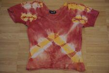 T-Shirt, Batik, bunt, 90er, Größe S