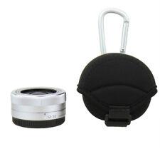 JJC Pancake Lente caso bolsa bolsa para Sony 16mm f/2.8 14-42mm Panasonic 12-32mm E