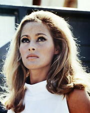 Ursula Andress portait in white 1960's 16x20 Canvas Giclee