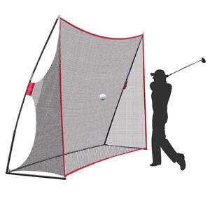 10x7FT Hitting Net Golf Practice Training Indoor Outdoor Yard Garden Portable