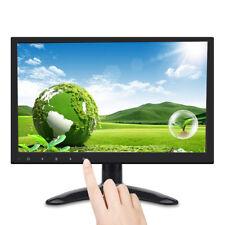 12 Zoll FHD 1920P Touch Button Display Screen HDMI/USB/VGA Monitor Lautsprecher