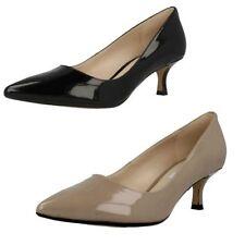 Clarks Kitten Patent Leather Heels for Women
