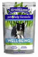 Missing Link Pet Kelp Well Being Formula for Dogs Essential vitamins 8 oz