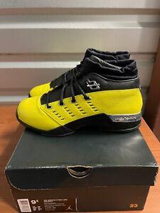 "Used Air Jordan 17 Low ""Solefly Alternate Lightning"" Size 9.5"