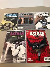 Batman and the Monster Men 2-6 1st Print all VF/NM! DC 2005 2 3 4 5 6 Wagner