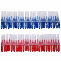 Red/Blue Brush 50pcs Tooth pick Flossing Head Oral Dental Gum Care Teeth Clea Gr