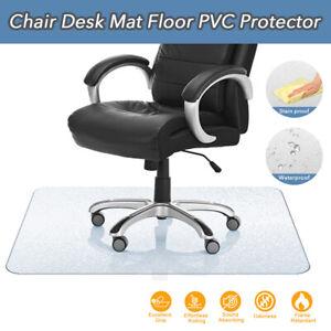 Vinyl PVC Office Chair Mat Carpet Oversized Hard Floor Protector 1200X900mm