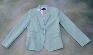Banana Republic Women's Green Blazer Jacket Size 10.