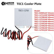 TEC1 12703~12715 Heatsink Thermoelectric Cooler Cooling Peltier Plate 40x40mm