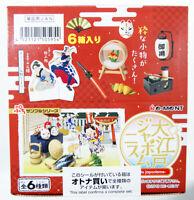 Re-ment 505954 Oedo Japonisme 1 BOX 6 Pcs. Set