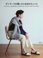 Knits from Denmark by Marianne Isager Japanese Craft Pattern Book Japan