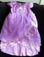 Disney Store TINKERBELL Costume Dress Size 4 Dress Up Dress
