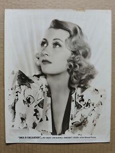 Joan Blondell original glamour studio portrait photo 1937 Back in Circulation