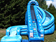 30x30x25 Commercial Inflatable Water Slide Obstacle Course Bounce House Bouncer