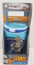 STAR WARS ZAK DESIGNS C-3PO & R2-D2 2 IN 1 SNACK & DRINK CUP SEALED MIB