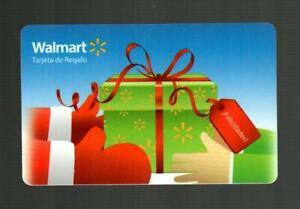 WALMART ( Puerto Rico ) Felicidades 2011 Gift Card ( $0 )