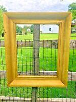 """ANTIQUE FITS 19 X 24 Lemon GOLD GILT PICTURE FRAME WOOD FINE ART 5"""" Wide Molding"""