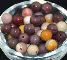 30pcs 6mm Gemstone Natural Mookaite Round Spacer Beads Beautiful Loose Beads