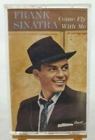 """VINTAGE Frank Sinatra """"Come Fly with Me"""" Cassette Capitol Records #4XL-9190 1985"""