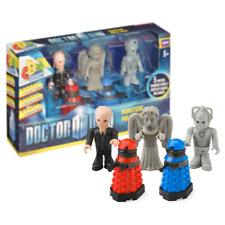 New Doctor Who Monsters Multi-Pack Weeping Angel Dalek Cyberman Silence Official